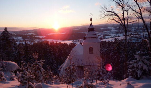 Im Winter Wandern
