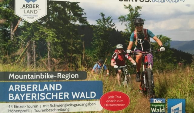 "Cover ""Mountainbike-Region"""