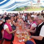 Das Festzelt des St. Guntherfest
