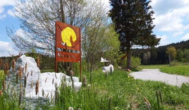 Der Fledermaus-Skulpturenweg