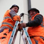Arno Graf und Stefan Hartmann lachen wo andere schon zittern!