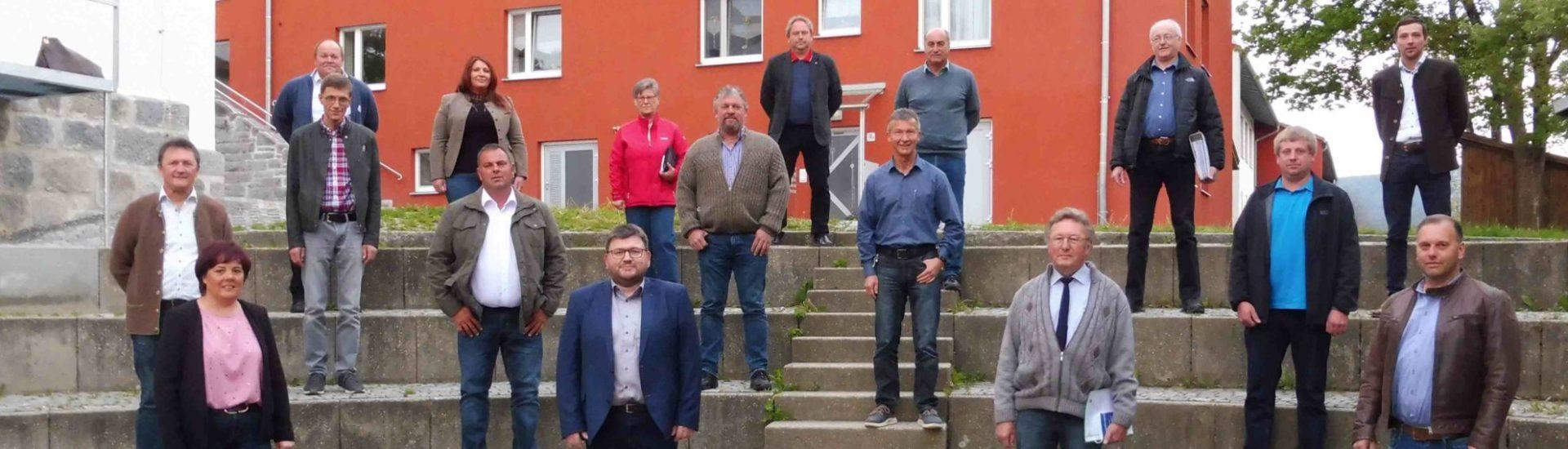 Gruppenfoto des Gemeinderats