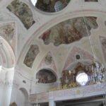 sehenswerte Barockkirche - Deckenverziehrungen