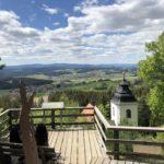 Aussichtsplattform im Rinchnahcer Hochwald