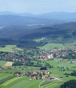 Luftaufnahme von Rinchnach