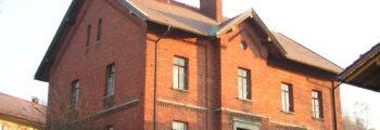 """1888: Bau """"Rotes Schulhaus"""""""